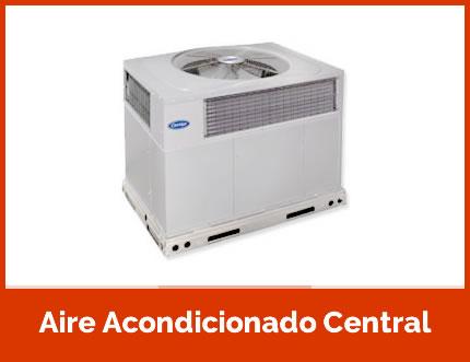 ¿Qué es un aire acondicionado central?