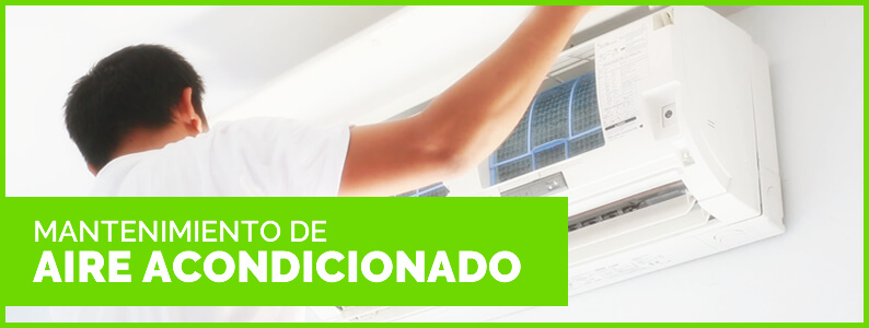 como realizar mantenimiento de aire acondicionado