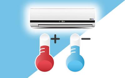 ¿Qué es el aire acondicionado frio y calor?